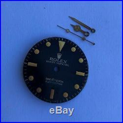 Vintage Rolex Submariner Ref. 5513 Feet First Dial & Hands Minor Damage