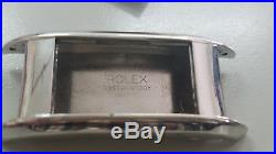 Vintage Rolex prince doctor watch case, dial, crown and hands