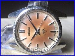 Vintage SEIKO Hand-Winding Watch/ KING SEIKO KS 45-7001 SS Hi-Beat For Parts