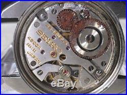 Vintage SEIKO Hand-Winding Watch/ KING SEIKO KS Chronometer 45-8010 SS For Parts