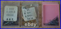 Vintage Swiss Watchmakers Parts Job Lot Of Watch Hand Swiss Made By A. G. T 3Boxes