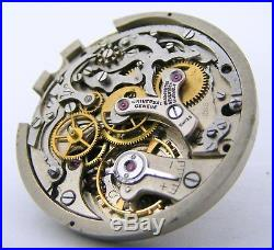 Vintage Universal Geneve cal. 285 Two Registers Chronograph movement, Hands & dial