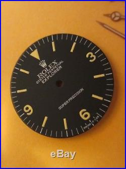 Vintage Used Rolex #5500 Explorer SUPERPRECISON Refinished Dial with Hand-Set