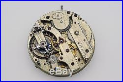 Vintage Vacheron Constantin Pocket Watch Movement Dial Hands Parts Repair