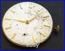 Vintage Watchmakers Parts Omega Dial Hands & Movement Omega Watch Movement