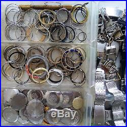 Vintage watchmaker watch parts! Crown's, Glass, Band's, Hand's, and Others LOOK