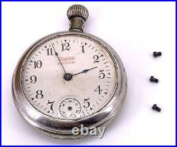 Voyageur Boy Proof Hand Manual 52mm Doesn'T Works For Parts Pocket Watch Made