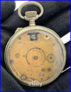 Walther Chronometre hand manual vintage 44 mm NO Funciona for parts pocket watch