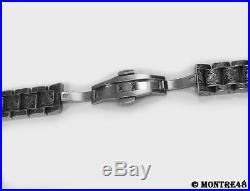 Watch Bracelet Hand Carved Stainless Steel For 18mm watch lugs 22cm length o178