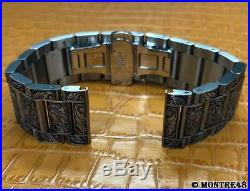 Watch Bracelet Hand Carved Stainless Steel For 22mm watch lugs 22cm length K8