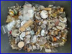 Watch Parts Steampunk Wheels Gears hands Altered Art Watchmakers Lot