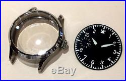 Watch kit for Hamilton 917 921 923 watch case dial hands saphirre crystal