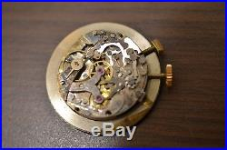 Watch movement Chronographe suisse VENUS 170 / for parts dial and hands