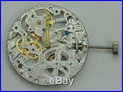 Watch movement Seagull ST3600 skeleton mechanical hand wind ETA Unitas 6497 copy