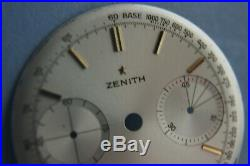 ZENITH 146 D Chronograph Dial and full set of hands 31.5mm
