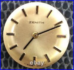Zenith 1110 NO Funciona For Parts Hand Manual 18,5 mm Watch Vintage Swiss Reloj