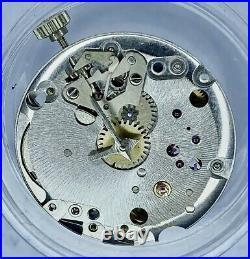 Zenith Cal 2310 Complete Movement Z Steel Crown & hands-Working Vintage Parts