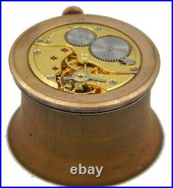 Zenith Dial & Hands & Movement Cal. 120 Only For Parts Use. From 1950