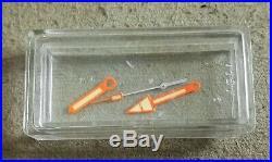 Zenith Super Sub Sea Hand Sets nos Genuine Creme/Orange For ref. A3649 A3635