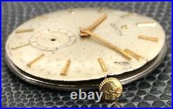Zenith stellina 2531 NO Funciona For Parts Hand Manual 31,3 mm Vintage Watch